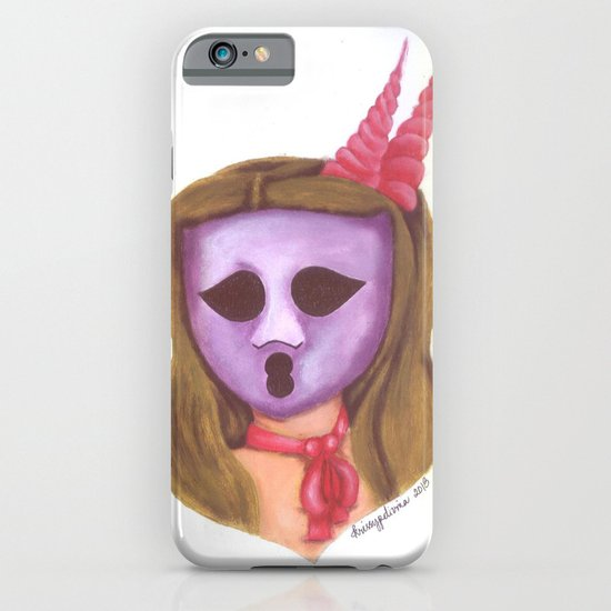 The Ghostess Face from The Ghostesses of Caprice iPhone & iPod Case