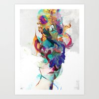 Let it out Art Print
