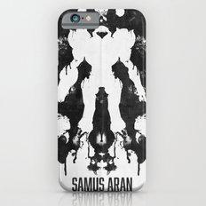 Samus Aran Metroid Geek Psychological Diagnosis Ink Blot  Slim Case iPhone 6s