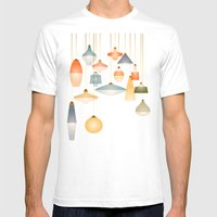la belle lumière Mens Fitted Tee White SMALL