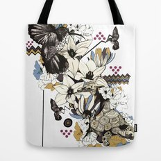 Hummingbird River Tote Bag