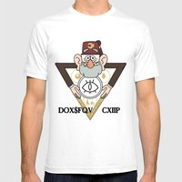 Great Symbol Of Stan Mens Fitted Tee White SMALL