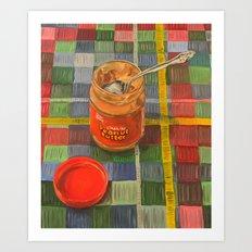 Peanut Butter Art Print