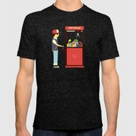 Claw Machine Mens Fitted Tee Tri-Black SMALL