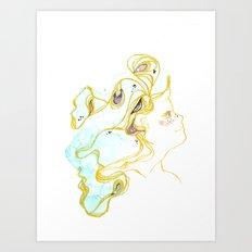 Theresa Art Print