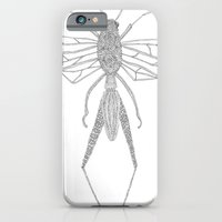 iPhone & iPod Case featuring Odonata by Marrit van Nattem