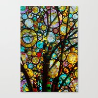 Fairy Tale Tree Canvas Print