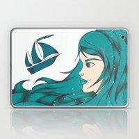 Poseidon Goddess of the Sea Laptop & iPad Skin