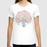 Design Based In Reality … Womens Fitted Tee White SMALL