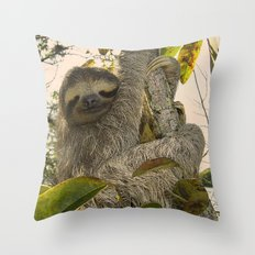 Sloth Throw Pillow