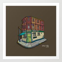 brickhouse Art Print