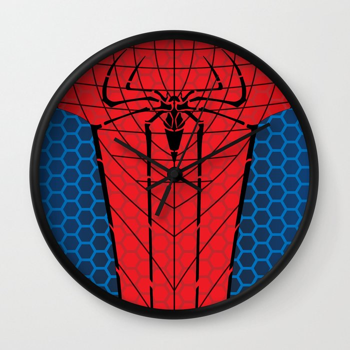 Amazing Spider Man Wall Clock By C Rhodes Design Society6