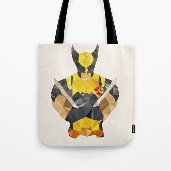Polygon Heroes - Wolverine Tote Bag