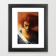 ThunderCats Collection - Lion-O Framed Art Print