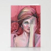Strawberry Flirt Stationery Cards