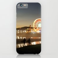 iPhone & iPod Case featuring Santa Monica Dazzles by Young Swan Designs