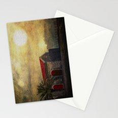 Madeira. Beach house Stationery Cards