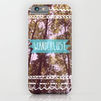 iPhone & iPod Case featuring Wanderlust by AA Morgenstern