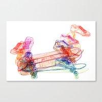 Switch Kickflip  Canvas Print