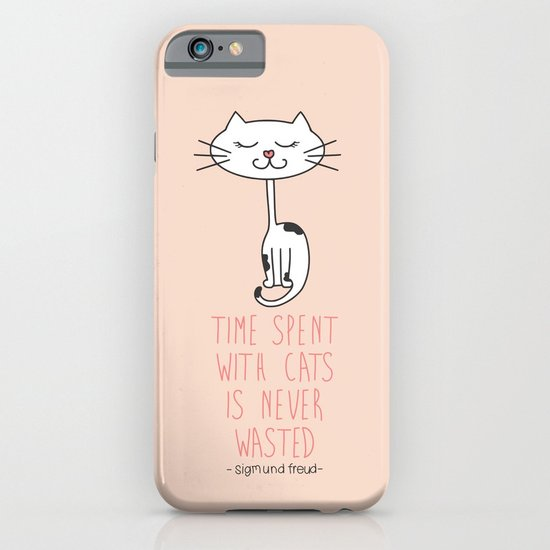 Time With Cats iPhone & iPod Case