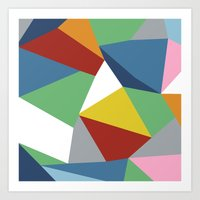 Abstraction Zoom Art Print