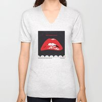 No153 My The Rocky Horror Picture Show minimal movie poster Unisex V-Neck