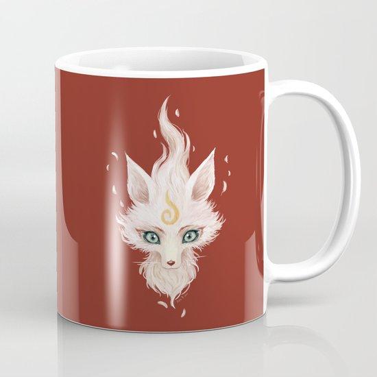 White Fox Mug