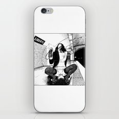 asc 584 - Une Américaine à Paris (My 4th of July in Paris) iPhone & iPod Skin