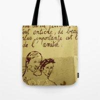 French Graffiti In Paris Tote Bag