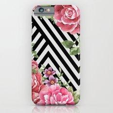 flowers geometric  iPhone 6 Slim Case