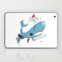 Sperm Whale Tornado Pira… Laptop & iPad Skin
