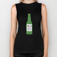Smile, I'm your beer Biker Tank