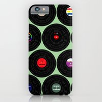 iPhone & iPod Case featuring Vinyl Love by MisfitIsle