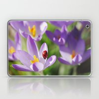 Spring with a good luck symbol Laptop & iPad Skin