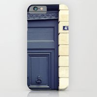 iPhone & iPod Case featuring four by Liz Rusby