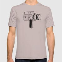 Super8 Mens Fitted Tee Cinder SMALL