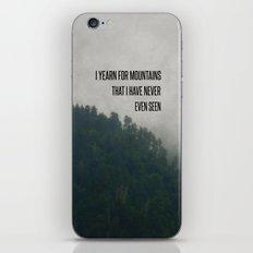 Mountain Yearning  iPhone & iPod Skin