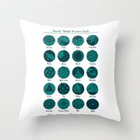 Potentially Mislabeled Microcosmos Samples Throw Pillow