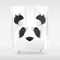 El Panda Shower Curtain