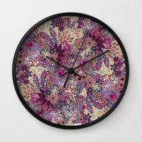 Vernal rising Wall Clock