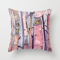 Safe House Throw Pillow