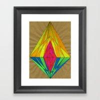 Diamond Light Framed Art Print
