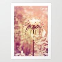 Recalling the summer Art Print