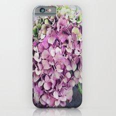 Rustic Hydrangea Slim Case iPhone 6s