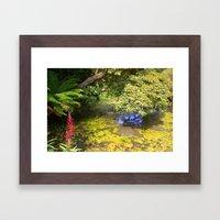 Heligan Gardens 2/4 Framed Art Print