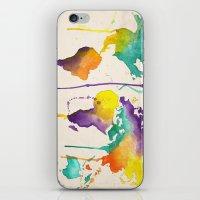 World Splash iPhone & iPod Skin
