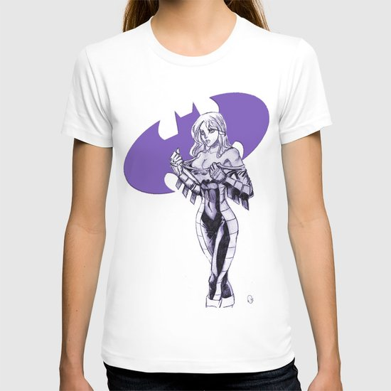 Batgirl Stephanie - Purple T-shirt