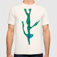 Gaia Mens Fitted Tee Natural SMALL