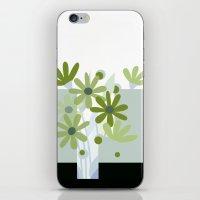 Modern Flowers In Vase iPhone & iPod Skin