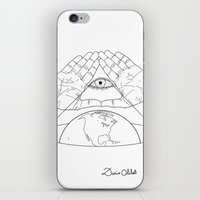 Annuit oeptis iPhone & iPod Skin